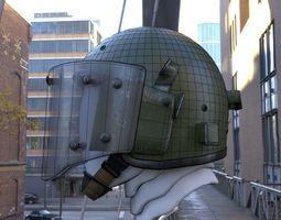 military russian helmet ZSH-1-2 4k 3D model