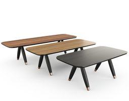 Basilio Table Miniform 3D model