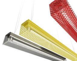 Lighting Fixture Grid Zero Lighting 3D model