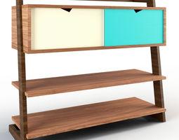 Sideboard Handmade Woodwork 3D asset
