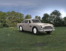 Aston Martin DB-5 3D