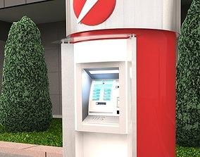 Exterior ATM kiosk 03 3D model