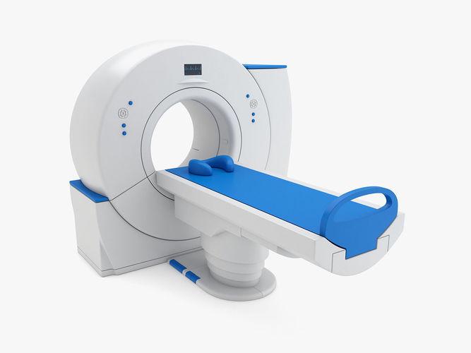 medical - mri scanner 3d model max obj mtl 3ds fbx c4d ma mb 1