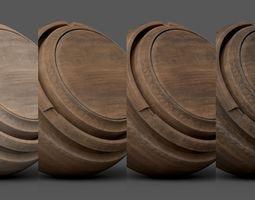Substance Painter Wood 1 Smart Material 3D model