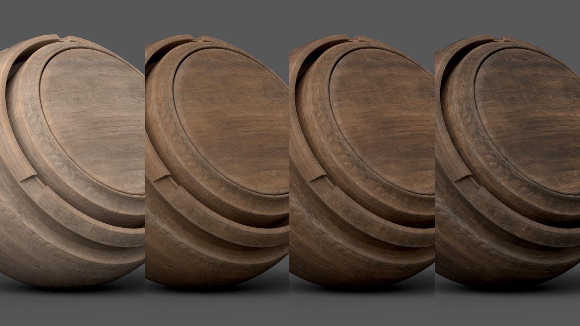 Substance Painter Wood 1 Smart Material | Texture