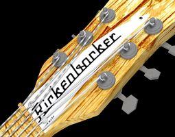 Rickenbacker 360 Mapleglo 3D model