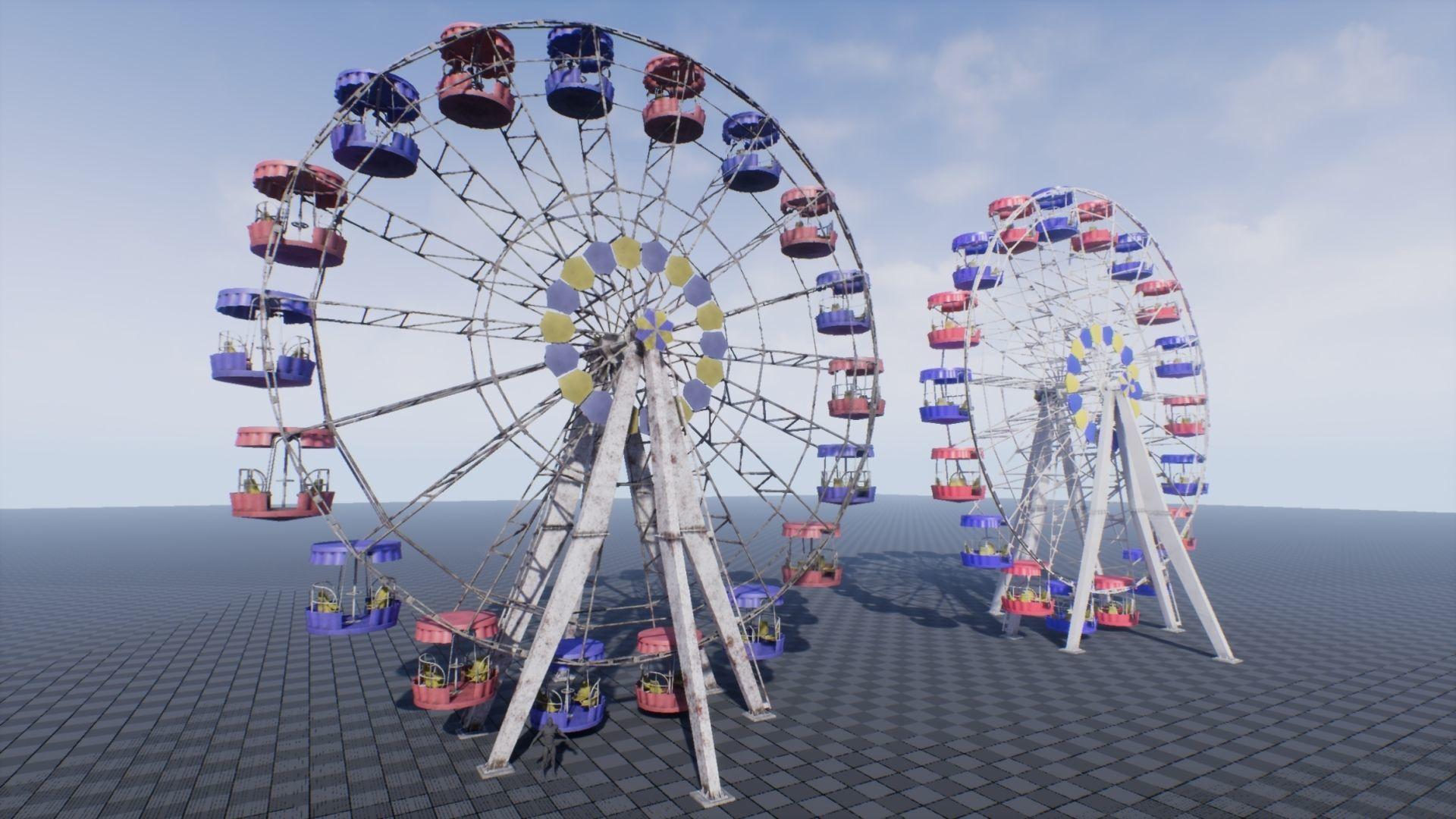 Ferris Wheel UE4 | 3D model