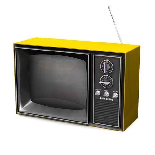 vintage television 3d model obj fbx lwo lw lws mtl 1