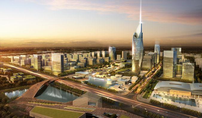 City Plan 0023D model