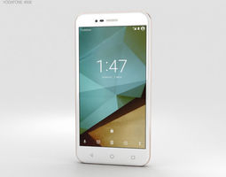 3D phone Vodafone Smart Prime 7 Boron White