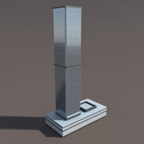 Skyscraper 33D model