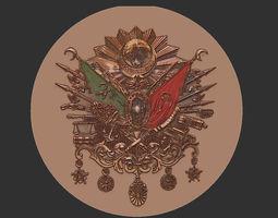 Ottoman Symbol 3D model
