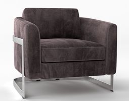 Aubriana chair 3D model