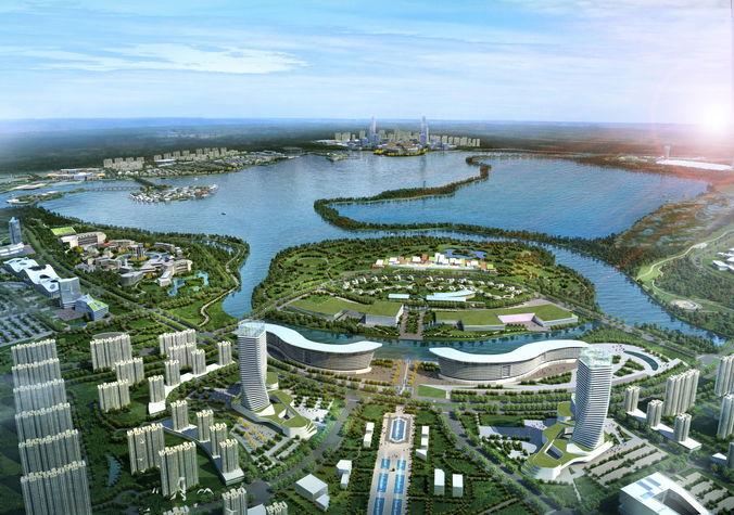 City Plan 0033D model