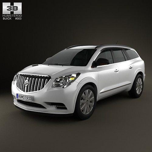 Buick Suv Enclave: 3D Buick Enclave 2013