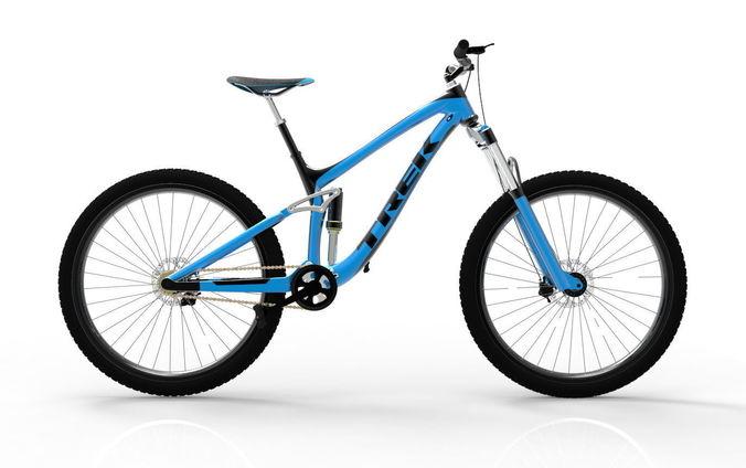 mountain bike 3d model stl sldprt sldasm slddrw ige igs iges stp 1
