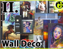 3D model Picture Frames and Wall Decoration 2