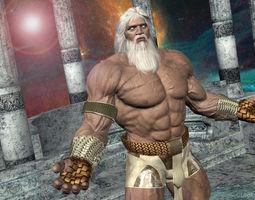 God-Like 3D Model 3D Model