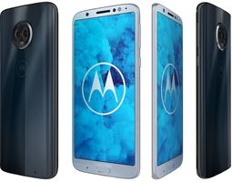Motorola Moto G6 All Colors 3D model