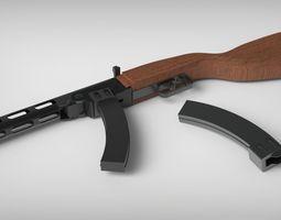 PPSH-41 Thompson Project 3D Model