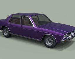 Holden HQ Statesmen 1974 3D