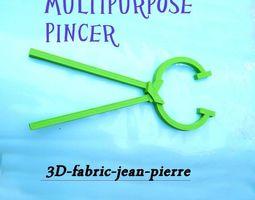 3d printable model multipurpose pincer