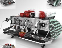 3D model Kees van der Westen Coffee Machine Mirage 3 2