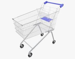 3D model Supermarket - Shopping Cart