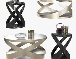 3D Tonin casa rimini occasional tables