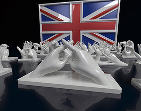 3D printable model British Sign Language