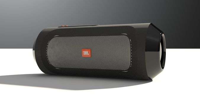 jbl bluetooth speaker 3d model 3dm 1