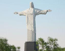 3D model Christ the Redeemer