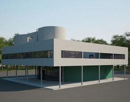 3D model Villa Savoye