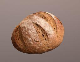 Tasty Bread 03 3D asset