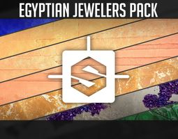 3D model Egyptian Jewelers Pack