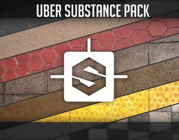 3D Uber Substance Pack