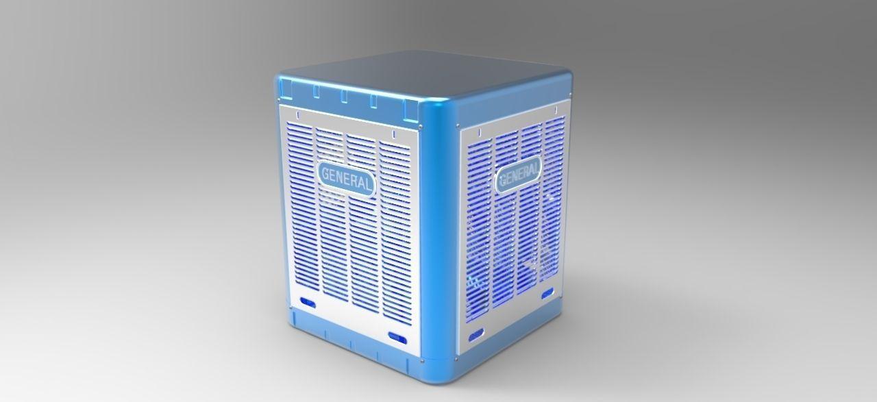 Cooler Free 3d Model Cgtrader Com