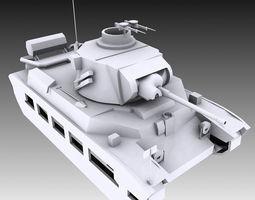 3D Matilda Tank