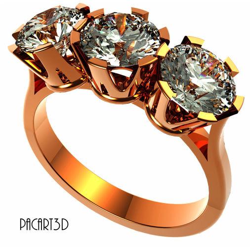 Engagement Or Wedding Ring Antique Clic Design Digital St Model Stl 1