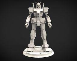 RX-78-2 Gundam 3D printable model