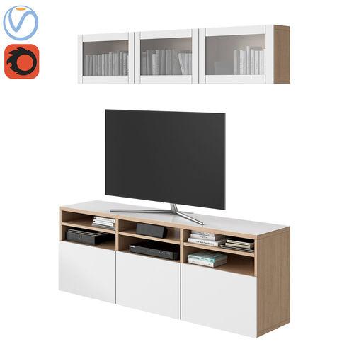 Ikea Besta 03 3D | CGTrader