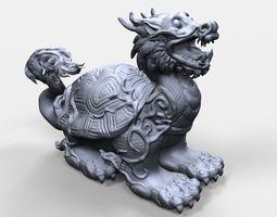 3D printable model Chinese Turtle figurine