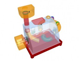 Hamstercage 3D model