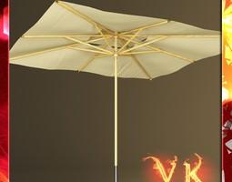 3D model Outdoor Umbrella Parasol