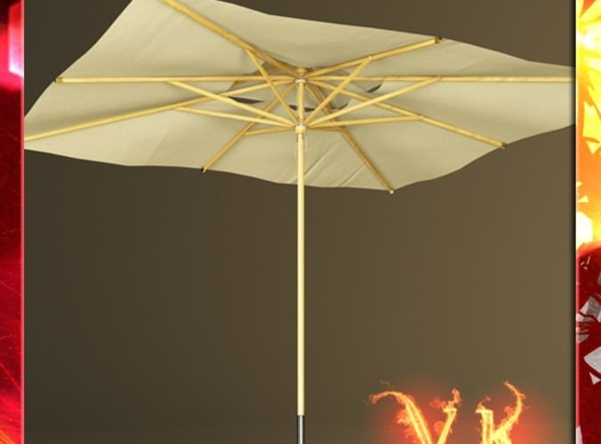 Outdoor Umbrella Parasol3D model