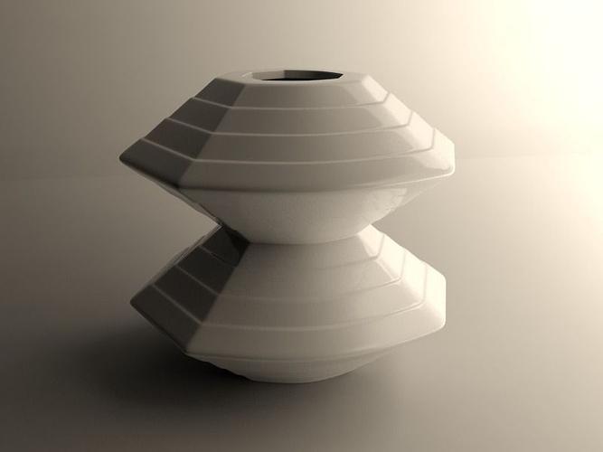 medium vase 2 3d model max obj mtl 3ds stl dae 1