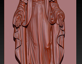 3D printable model Virgin Mary Statue STL Reliefs for CNC