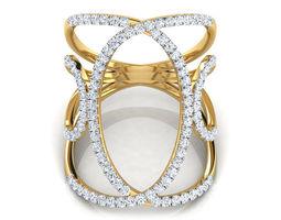 Multi Loop Wide Ring 3D printable model