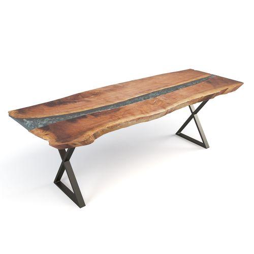 live edge river table 3d model max fbx mtl mat 1