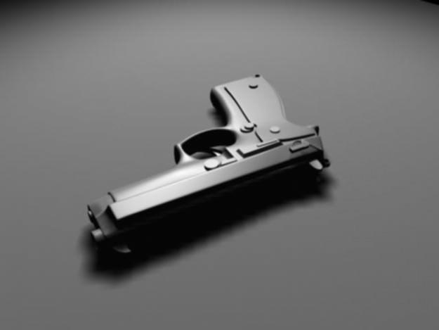 536 1 description comments 1 gun 3d model tags gun military weapon war